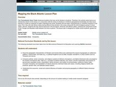 MAPPING THE BLACK ATLANTIC Lesson Plan