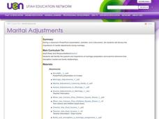 Marital Adjustments Lesson Plan
