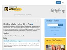 Martin Luther King Day Lesson Plan