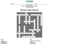 Martin Luther King Jr. Worksheet