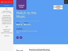 Match to the Music Lesson Plan