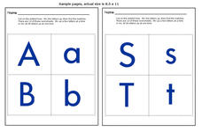 Matching Uppercase and Lowercase Letters Worksheet