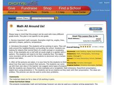 Math All Around Us! Lesson Plan