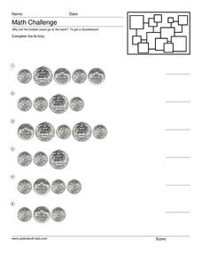 Math Challenge Worksheet