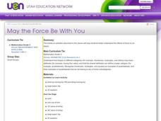 May the Force Be With You Lesson Plan