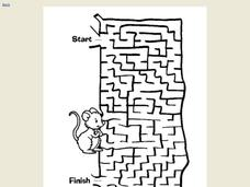 Maze Activity Worksheet