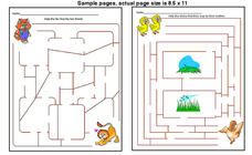 Mazes Worksheet