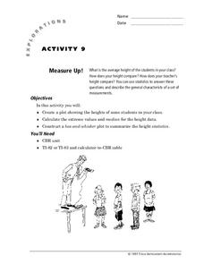 Measure Up! Lesson Plan