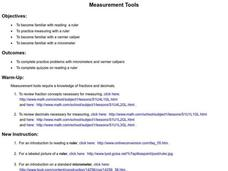 Measurement Tools Lesson Plan
