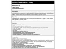 Measuring Up Lesson Plan