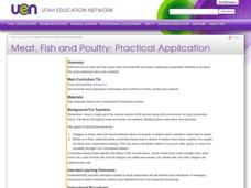 Meat, Fish and Poultry: Practical Application Lesson Plan