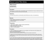 Media Literacy Lesson Plan