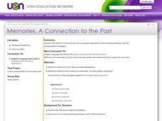 Memories, A Connection to the Past Lesson Plan