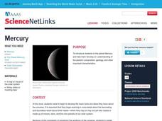 Mercury Lesson Plan