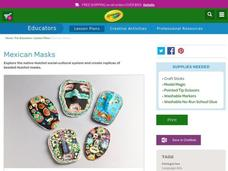 Mexican Masks Lesson Plan