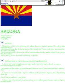 Arizona Lesson Plan