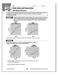 Misleading Statistics Worksheet