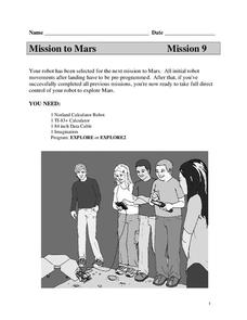 Mission to Mars Lesson Plan