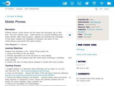 Mobile Phones Lesson Plan