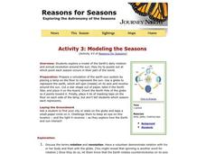 Modeling the Seasons Lesson Plan