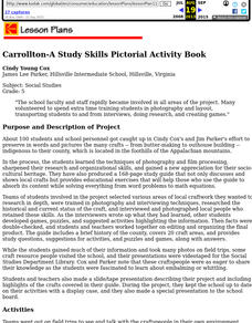 Carrollton-A Study Skills Pictorial Activity Book Lesson Plan