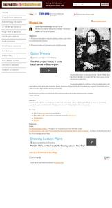 Mona Lisa Lesson Plan