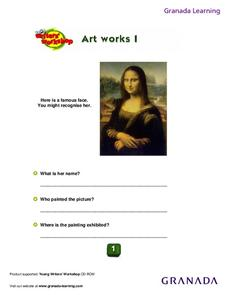 Mona Lisa Worksheet