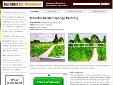 Monet's Garden Lesson Plan
