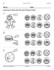 Money and Time Part 1 Worksheet