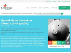 Money Smart children Lesson Plan