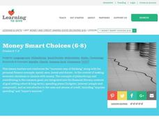 Money Smart Choices Lesson Plan