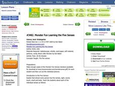 Monster Fun Learning the Five Senses Lesson Plan