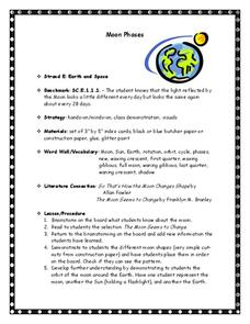 Moon Phases Lesson Plan