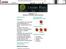 Motion Capture and Analysis Lesson Plan
