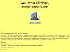 Mountain Climbing Lesson Plan