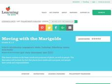Moving with the Marigolds Lesson Plan