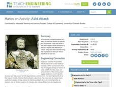 Acid Attack Lesson Plan