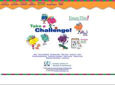 Math Challenges Activities & Project