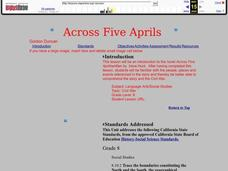 Across Five Aprils Lesson Plan