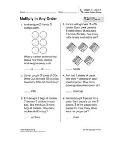 Multiply in Any Order Worksheet