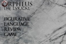Orpheus the Lyrical – Figurative Language Review Game Interactive