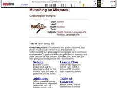 Munching on Mixtures Lesson Plan