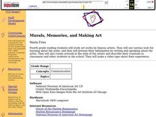 Murals, Memories, and Making Art Lesson Plan