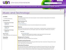 Music and Technology Lesson Plan