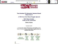 Music Styles Lesson Plan