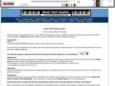 Music Technology Lesson Plan
