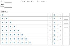 Add One Worksheet