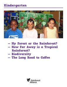 My Forest or the Rainforest? Lesson Plan