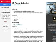 My Future Reflections Lesson Plan