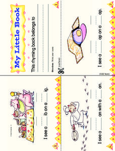 My Little Book Worksheet